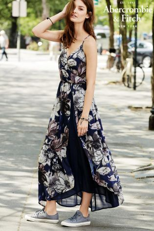 Buy Abercrombie & Fitch Floral Maxi Dress from the Next UK online ...