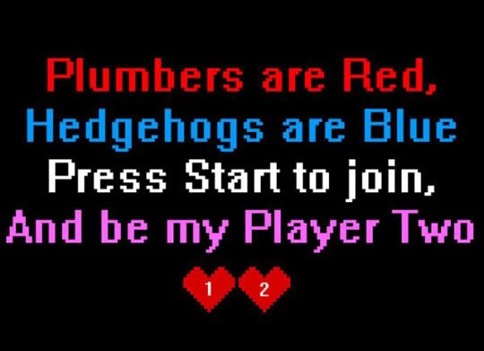Gamer Pick Up Line | Some of my favorite things | Nerdy