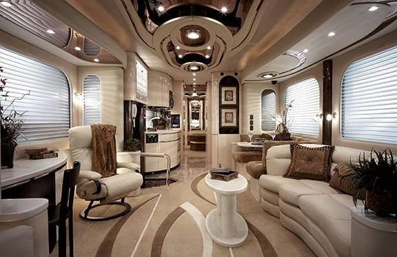 Tour Bus And Rv Interior Images Roadtrip Fox Edition