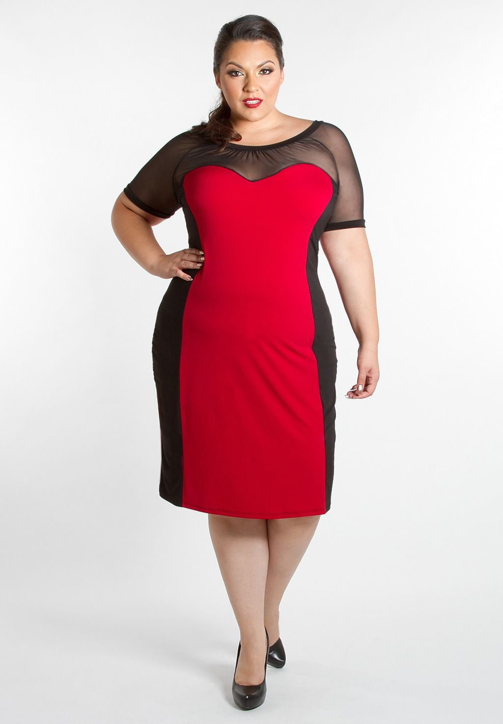 2dab39078e Red And Black Floral Dress Plus Size - Gomes Weine AG