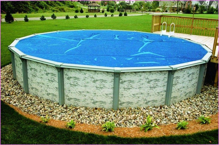 Captivating Above Ground Pool Landscape Ideas Photos