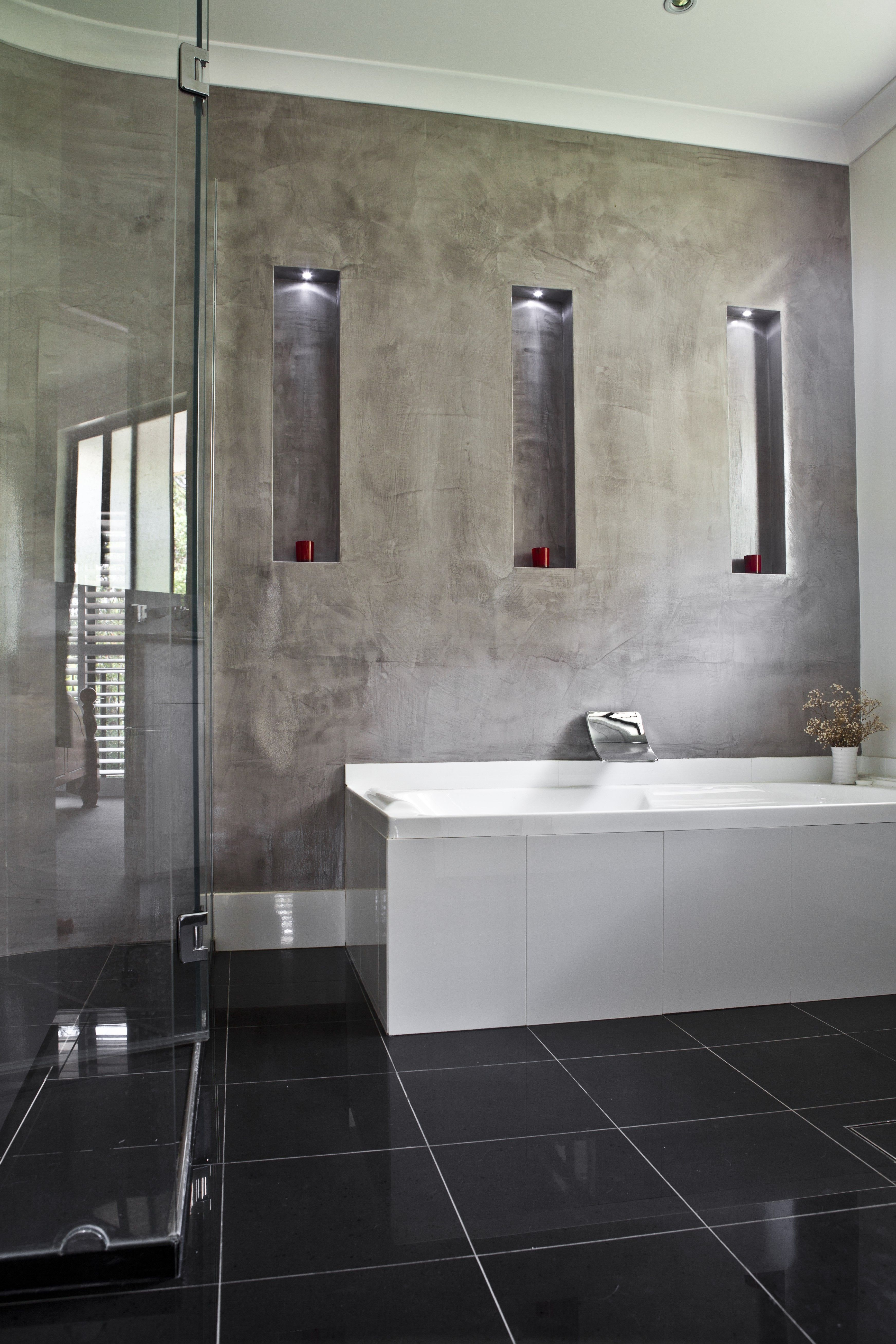 waxed marmorino concrete finishwonder wall pty ltd | feature