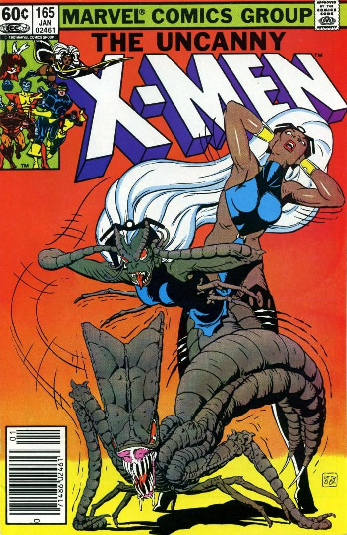The Uncanny X Men Vol 1 165 By Paul Smith Marvel Comics Covers Comic Book Covers Marvel Comics