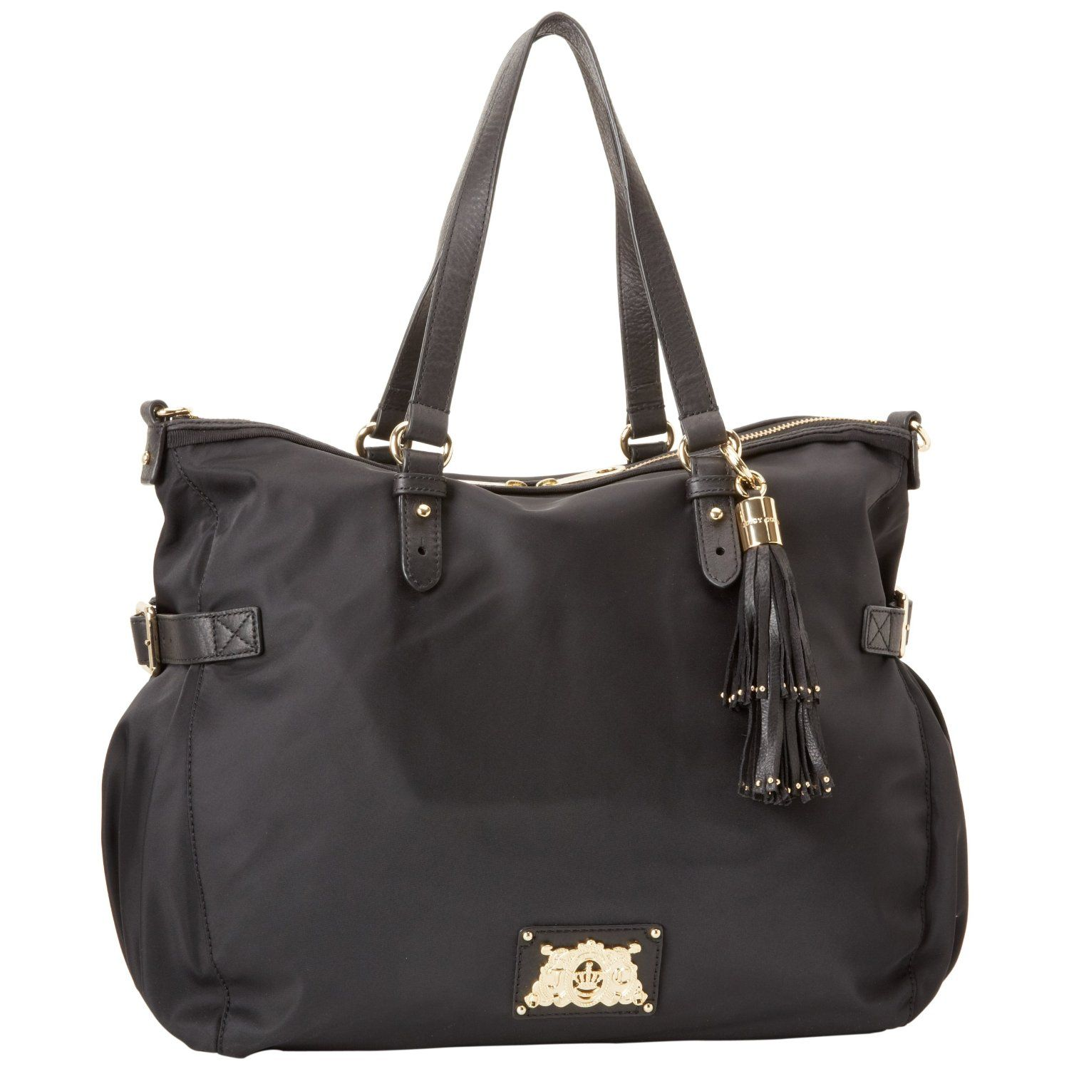 Juicy Couture Easy Everyday Nylon Lauryn Tote Bag ... Diaper bag only in  navy 3ffe6ccf87