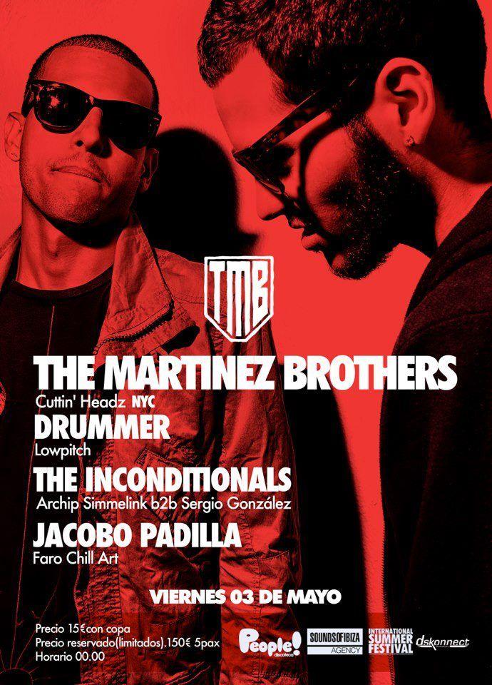 The Martinez Brothers Jacobo Padilla People Discoteca Discotecas Chill Nyc