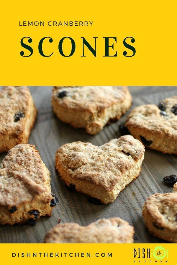 These Cranberry Scones begin with the fluffiest traditional scone batter and end with a little extra 'zest' from the addition of lemon and cranberry. scones