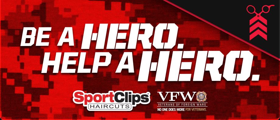 Sports Clips Vfw Help A Hero Scholarship Sports Clips Hero Sport Clips Haircuts