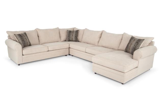 Yes Venus Ii Sectional Couch In Herbal Greyish