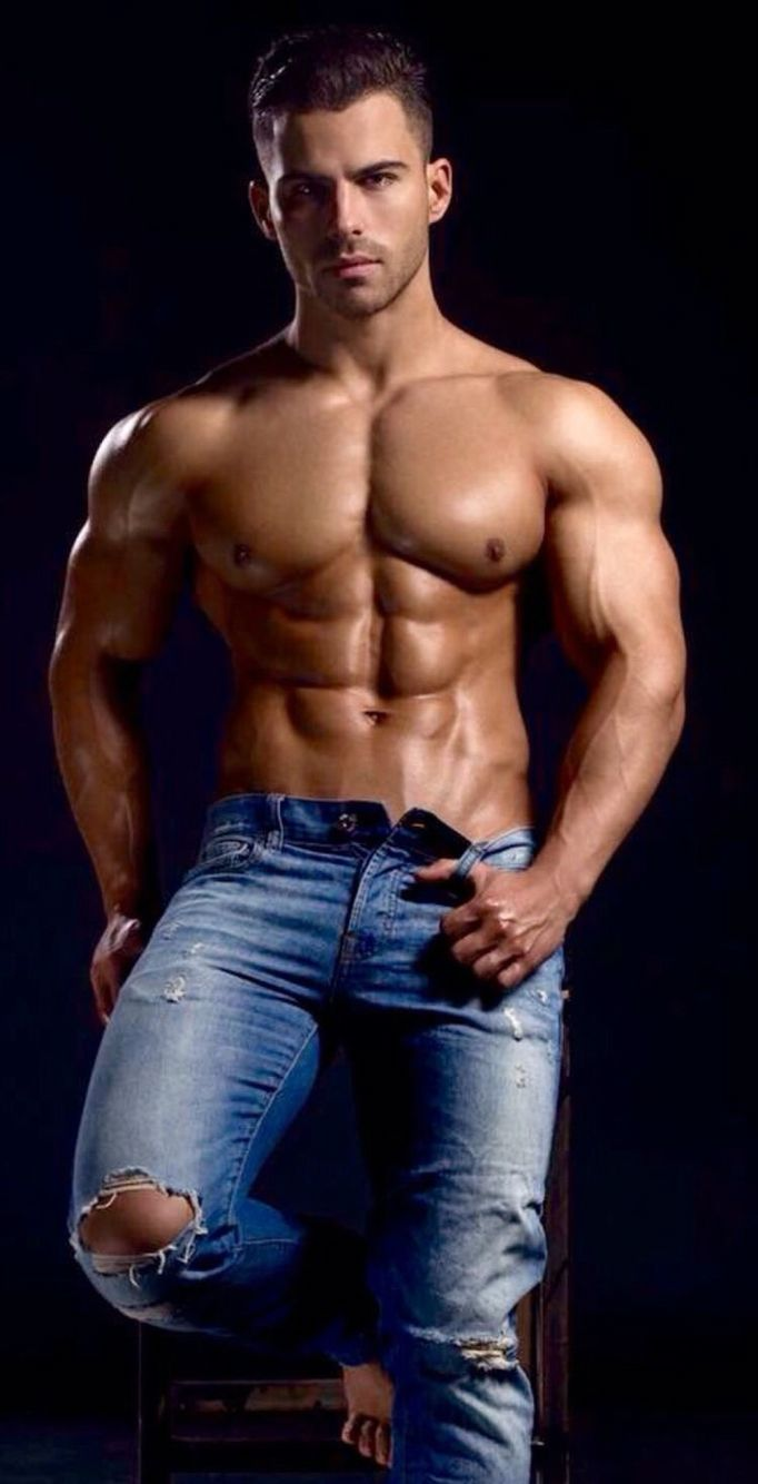 Blue jeans and muscle....... | fashion | Pinterest ...