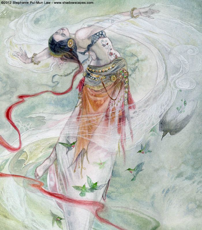 Stephanie Pui-Mun Law - Dreamdance Oracle Such a gorgeous Oracle. I want it for the paintings alone!