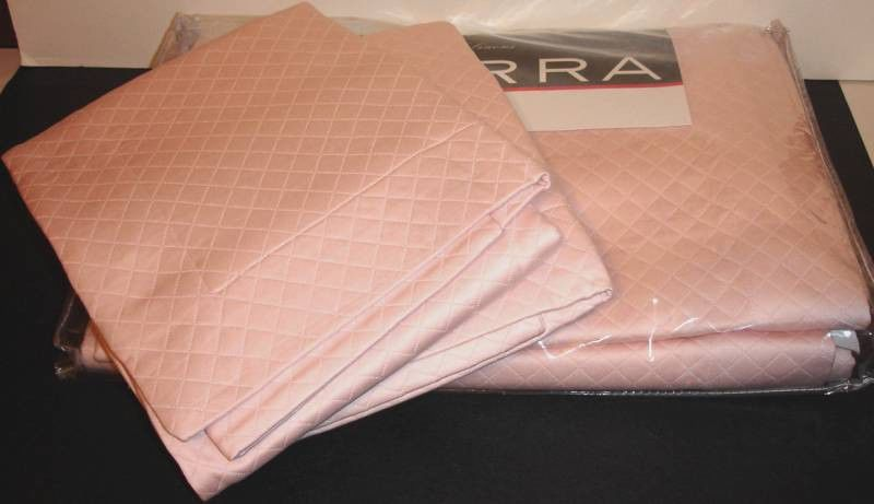 Sferra BARI 2 Shams King PINK BLOSSOM  Diamond Pique Cotton ITALY New #Sferra #DiamondPique