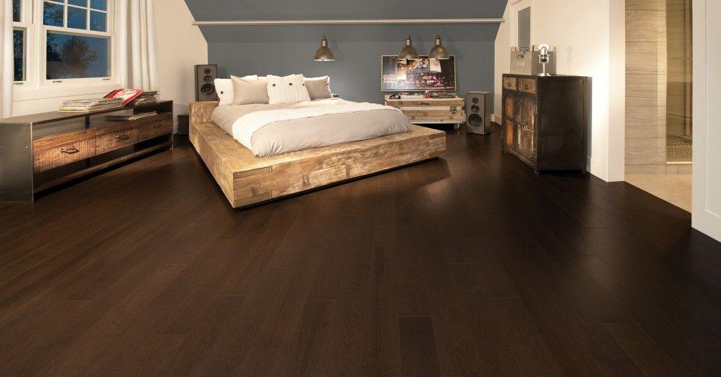 Maple Coffee Cheap Wood Flooring Hardwood Floors Bedroom Flooring