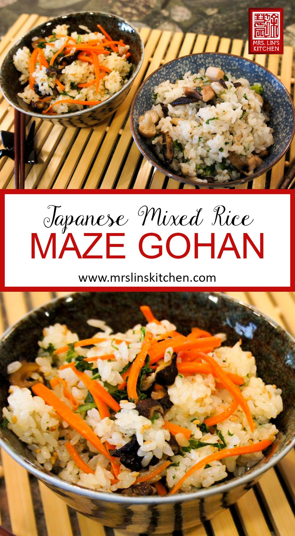 Maze Gohan Is A Simple And Healthy Japanese Dish Often