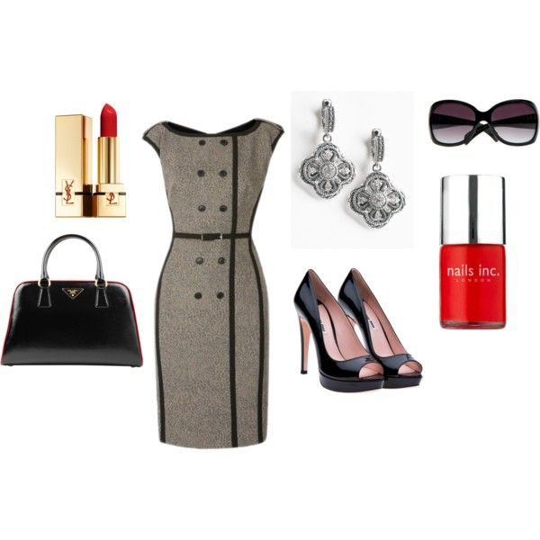 Classy and sophisticated!, created by paulette-lanni on Polyvore