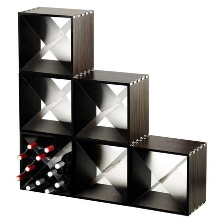 I Pinned This Stackable X Cube Wine Storage Cube From The Legnoart Event At  Joss