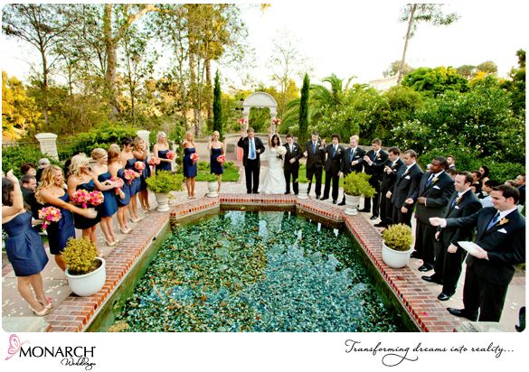 Vibrant Tropical Inspired Prado At Balboa Park Wedding