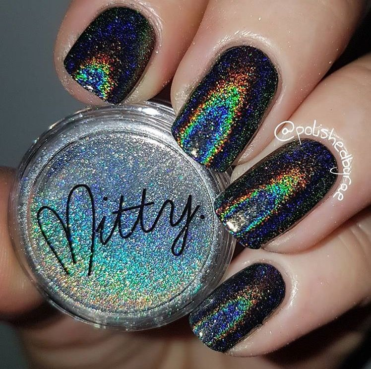 Mitty Magical Fairy Dust Holo Nail Art Powder | Fairy, Holo powder ...