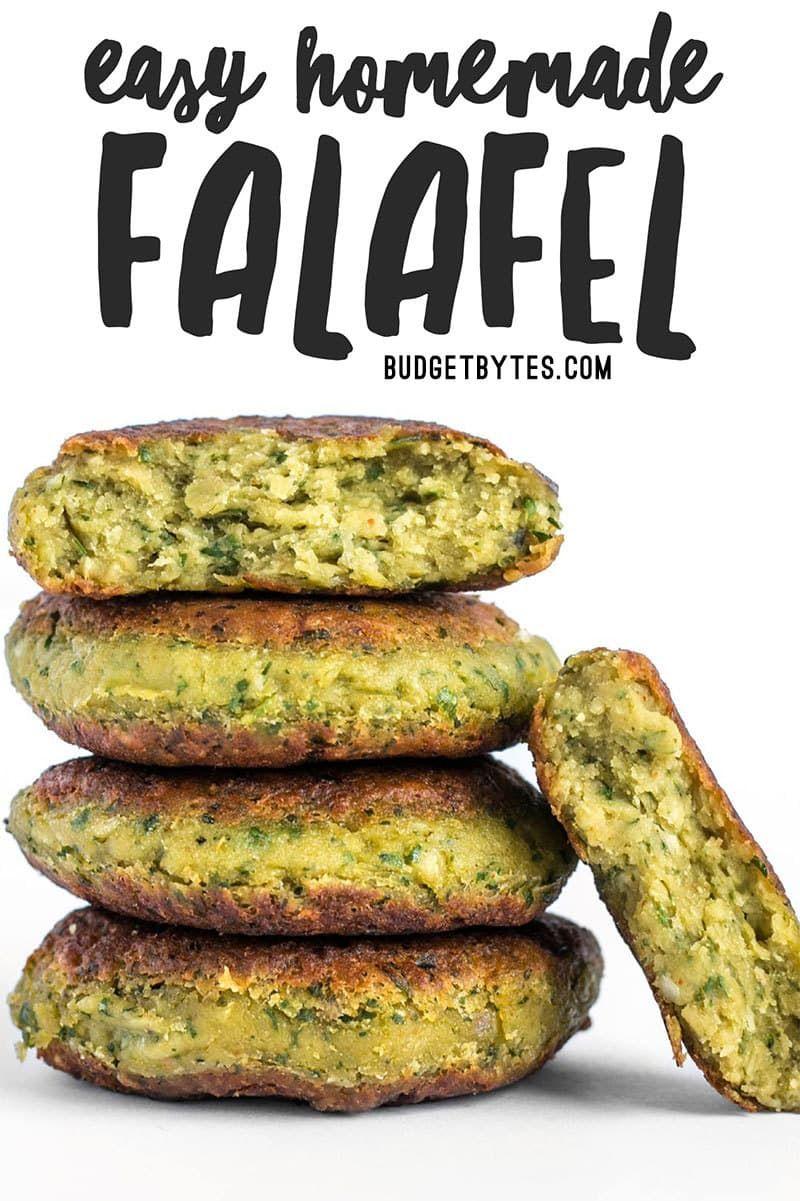 Easy Homemade Falafel - Vegan - Step by Step Photo