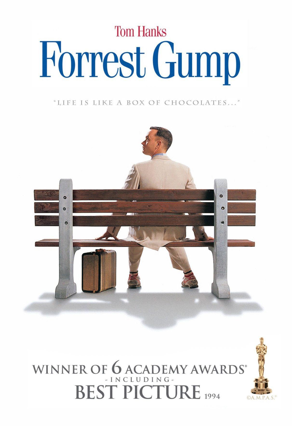 Forest Gump American Romantic Comedy-Drama Film Stars Tom Hanks Poster Photo