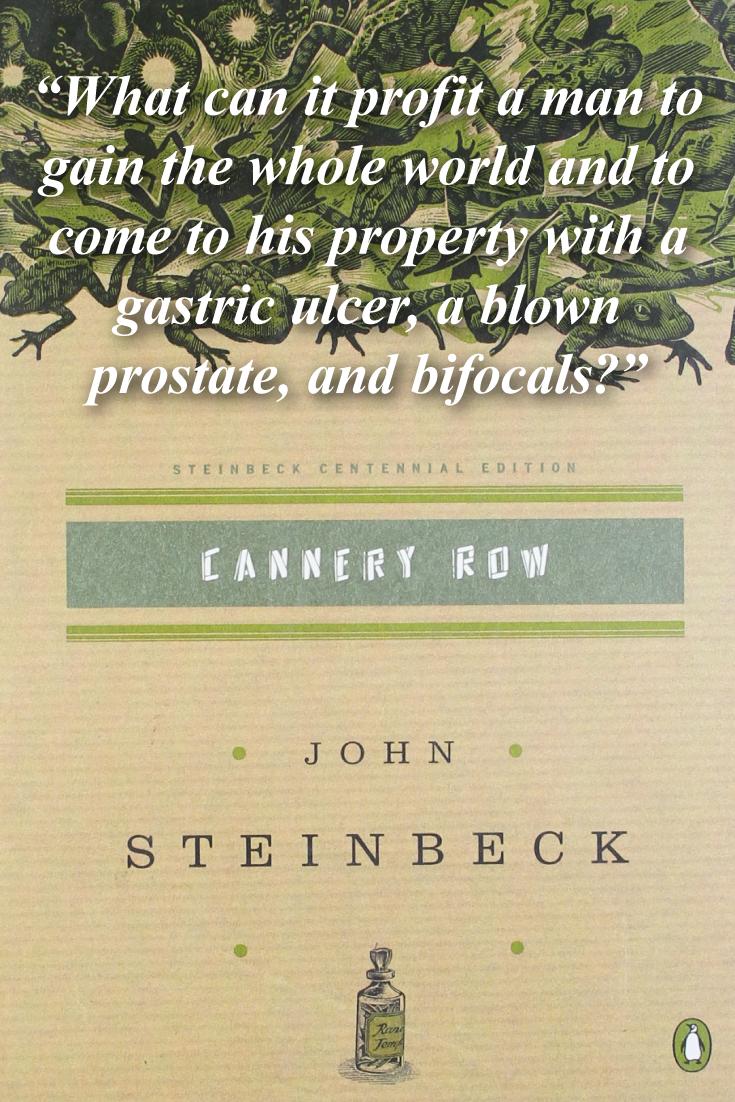 Cannery Row Centennial Edition John Steinbeck Shopswell Book Worth Reading Authors Essay