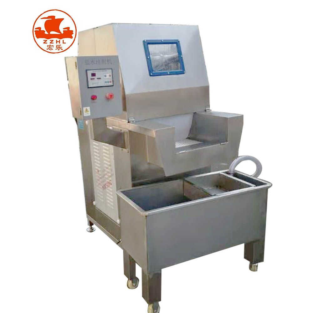 Automatic Meat Salt Water Saline Injection Machine Meat Brine Injecting Machine Manufacturing Making Machine Processed Meat