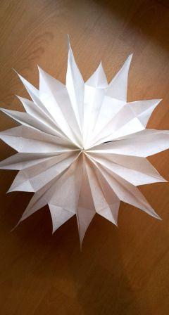 Stern Aus Butterbrotpapiertüten