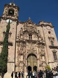 Guanajuato Mexico Iglesia De San Cayetano Siglo Xviii Este Templo