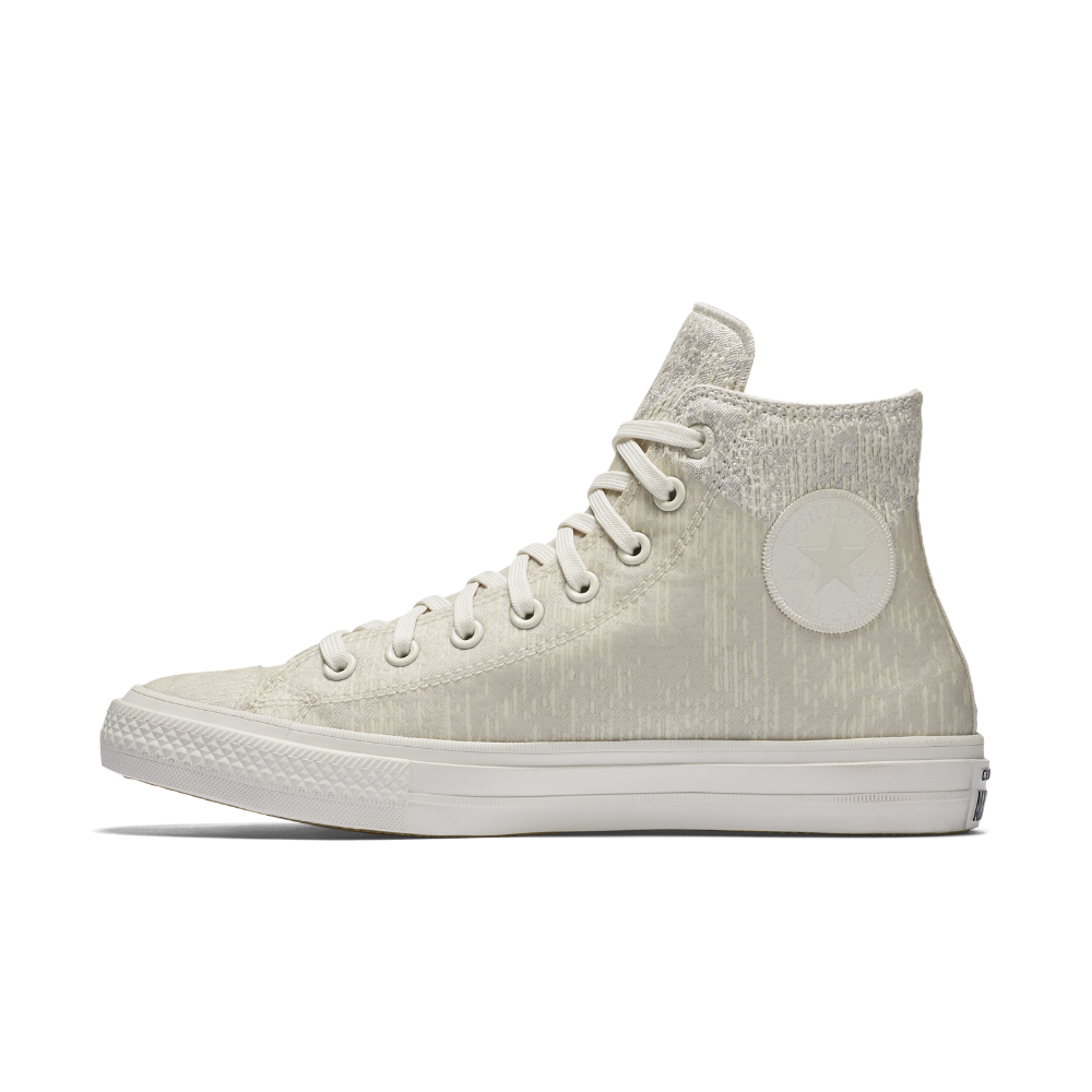 eed5a62e7270 Converse Chuck II Rubber High Top Shoe Size 10.5 (Cream) - Clearance Sale