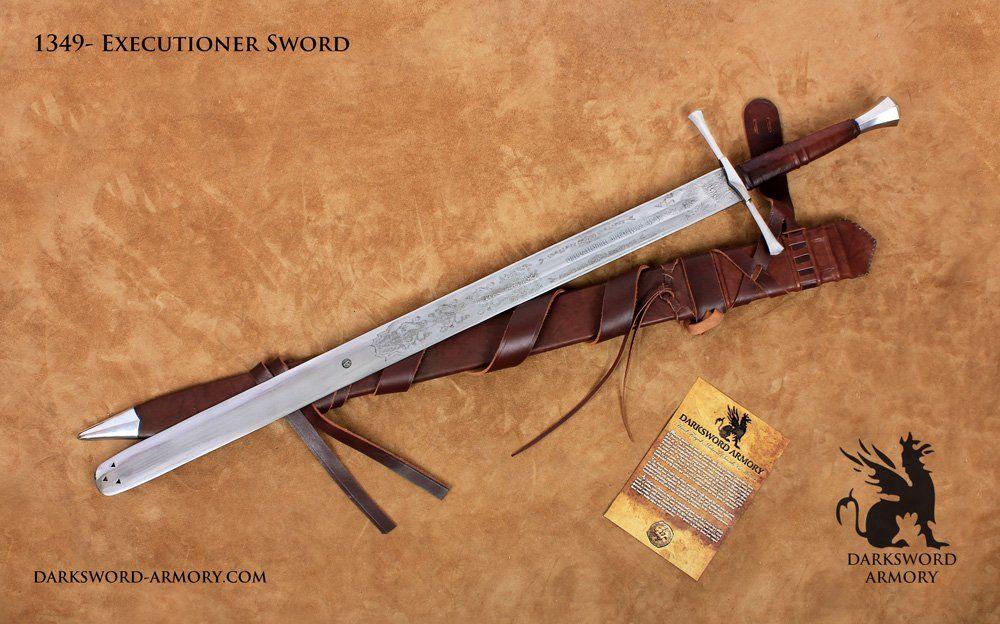 German Executioner Sword 1349 Darksword Armory Swords Medieval Sword Medieval