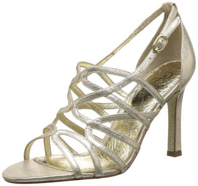 Adrianna Papell Women's Elda Dress Pump, Gold, 11 M US