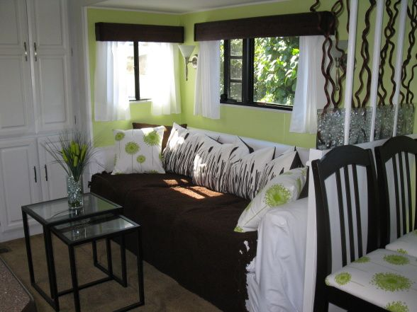 RV and Camper Decor Series: DIY RV Design | Rv, Short curtains and ...