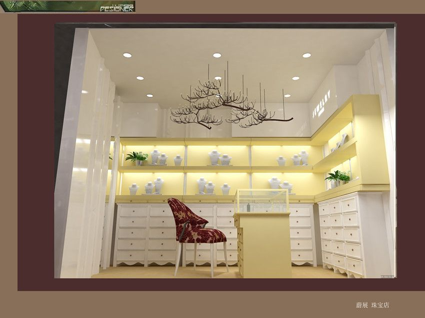 Wooden Jewelry Kiosk House For Shopping Center With Images