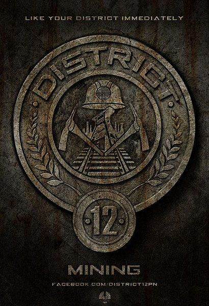 The Hunger Games District 12 Film Pinterest