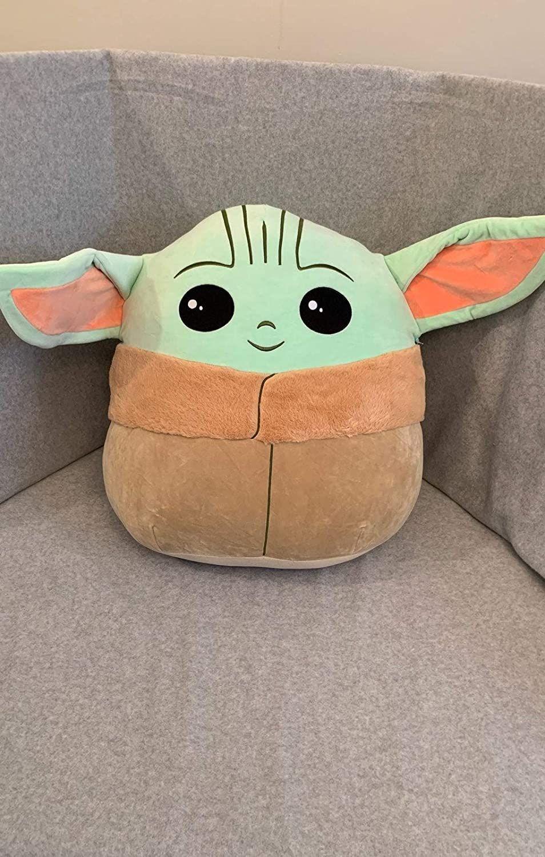 Baby Yoda Grogu Squishmallows 10 Pillow Cute And Cuddly Baby Toys Plush Plush Stuffed Animals
