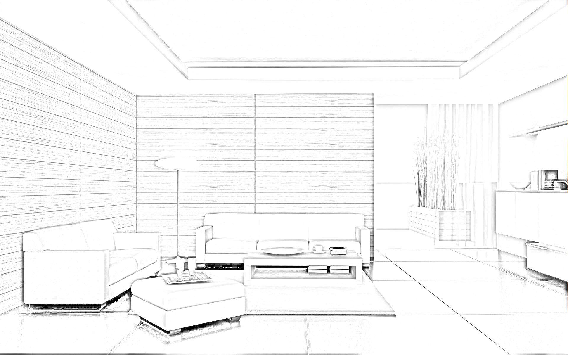 Simple Interior Design Sketches Valoblogi Com