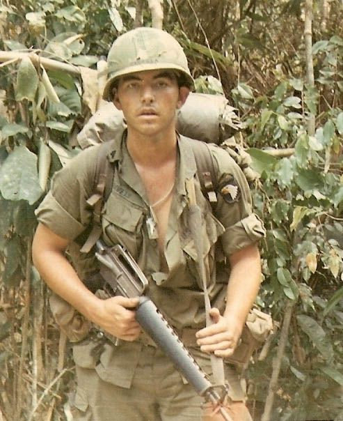 Carl Lively As A Teenage Us Army Vietnam War Photos