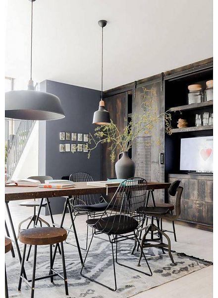Déco scandinave, industrielle et ethnique avec le Tapis Boucherouite par HK  Living , Vu sur Casa Vogue Brasil