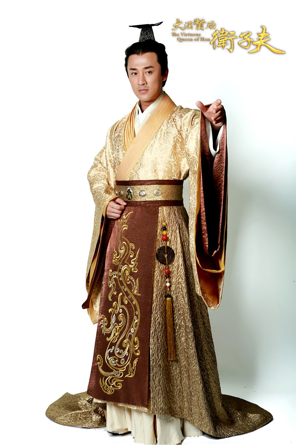 def199160 ... hanfu male costume Ancient Chinese Emperor Costume Gown Robe Wear  ancient emperor cosplay. The Virtuous Queen of Han | Lum Fong