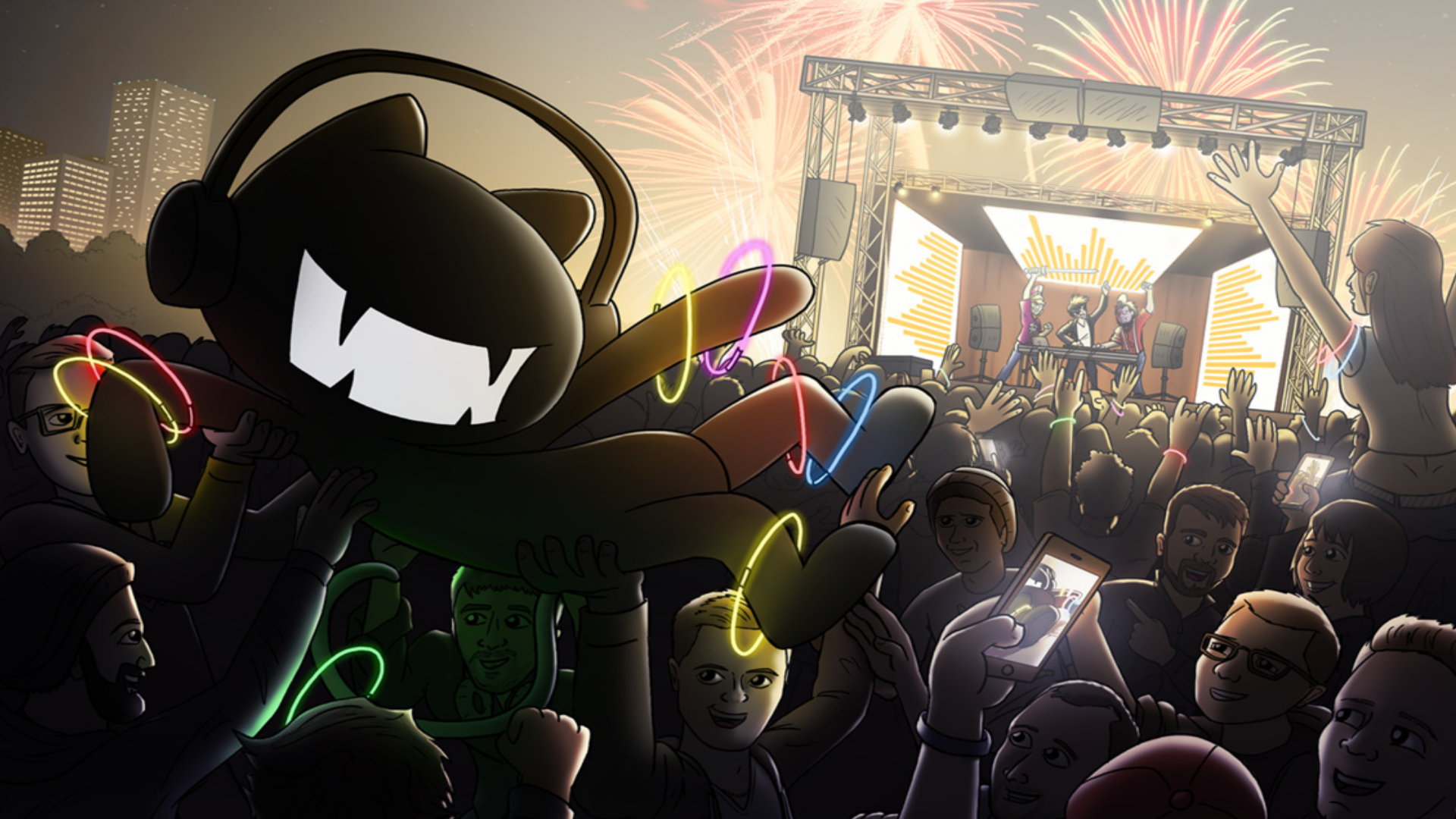 Fotos Pantalla Con Dibujos: Monstercat Wallpaper Hd - Buscar Con Google