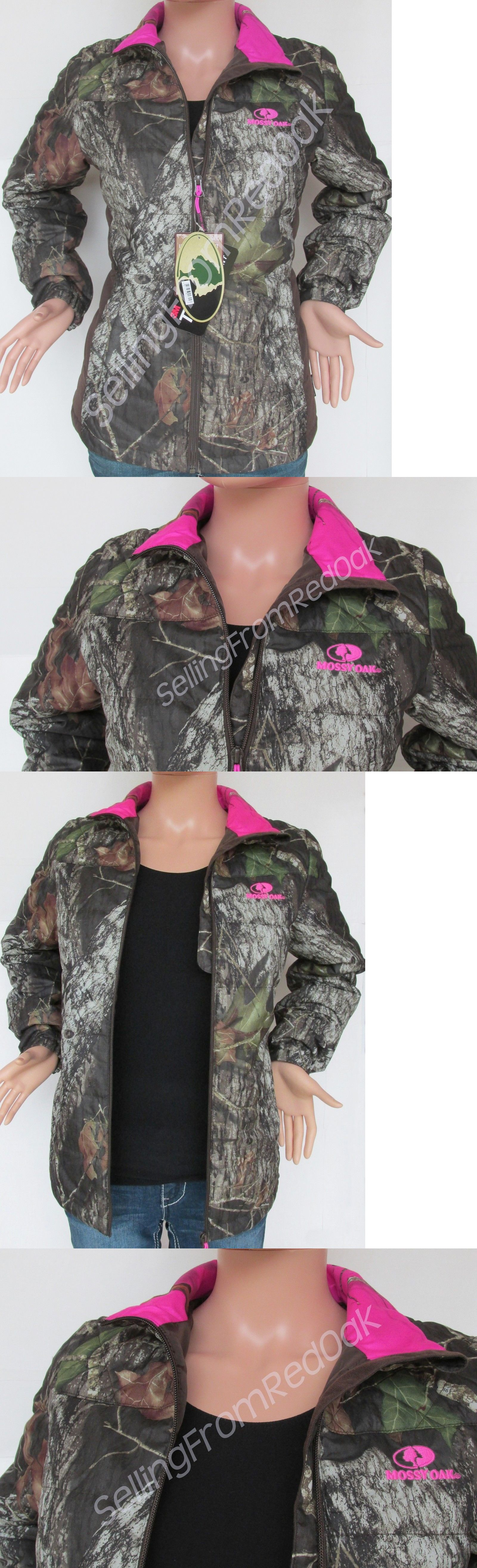 9a3a0df5b05b3 Coats and Jackets 177868: Womens Mossy Oak Camo Hot Pink Camouflage Camp  Jacket Winter Coat