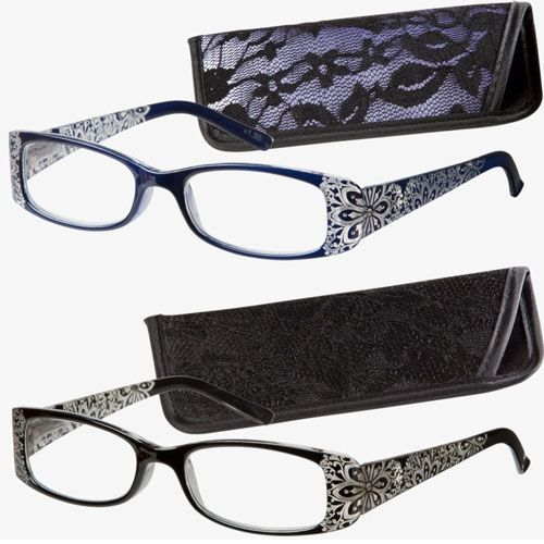 6b025ae069f1 Sparkle in the sun with Glitter Glam Reading Glasses at Debby Burk Optical.  Tons of styles are designed from runway looks