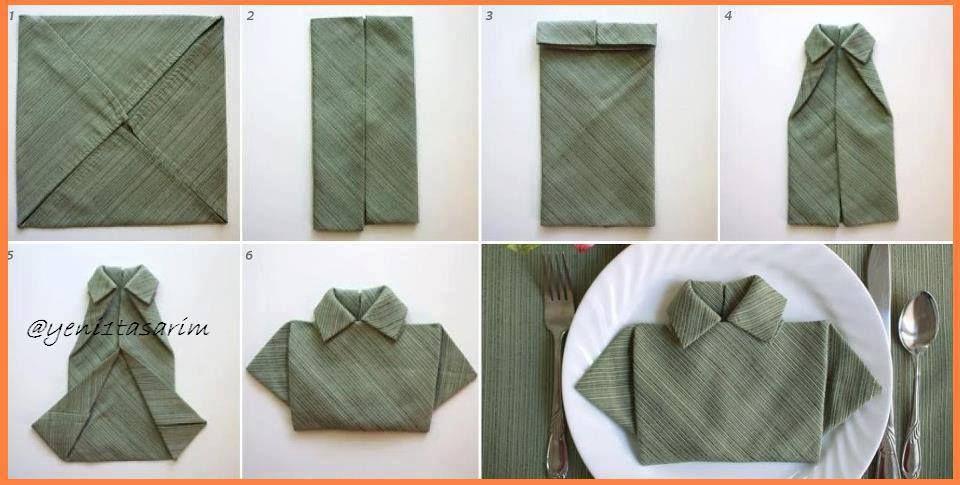 Cute napkin placement & Cute napkin placement | Celebrations | Pinterest | Napkins