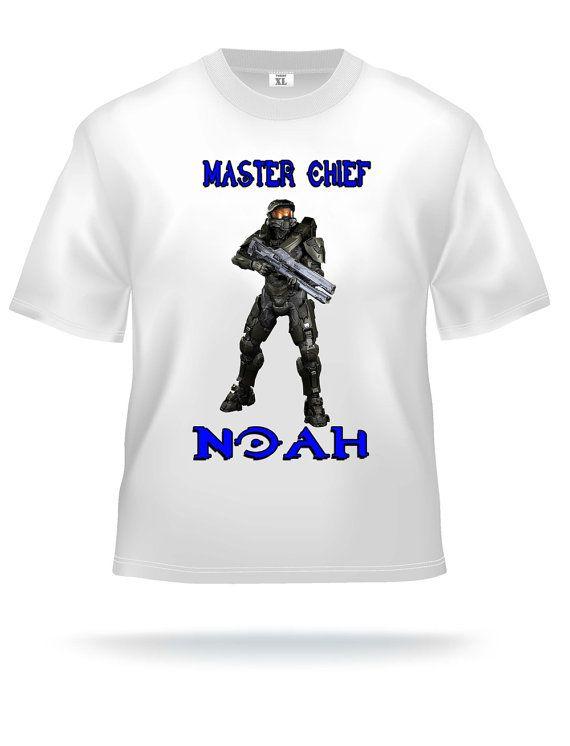 Personalized Halo Birthday T Shirt