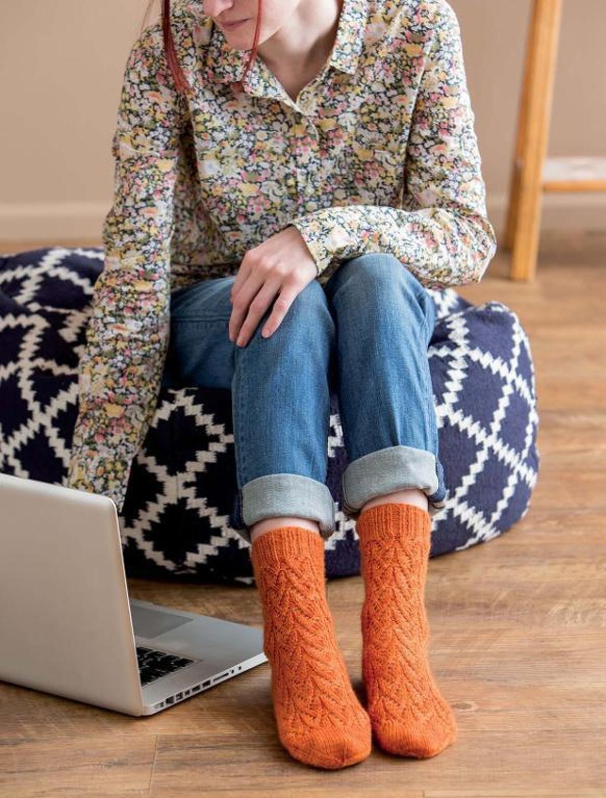 The Oh, Valencia! Sock   Craftsy