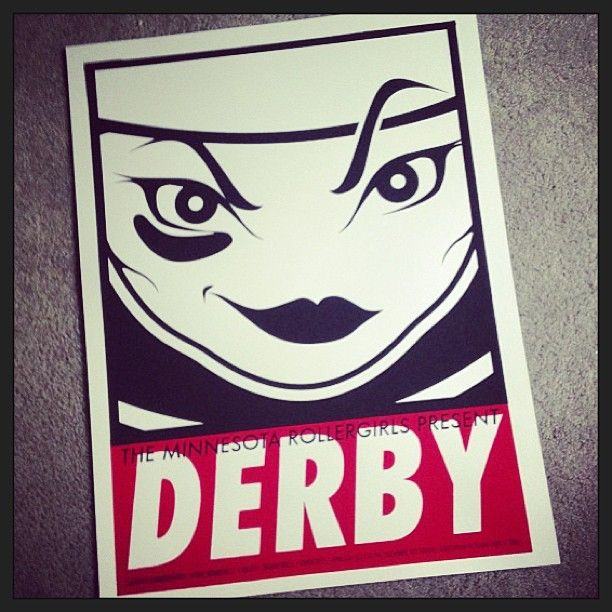 be on a roller derby team - Photo by mnrg