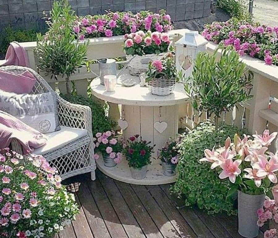 Pin di margherita rossetti su pallet giardino giardino for Rossetti vernici e idee