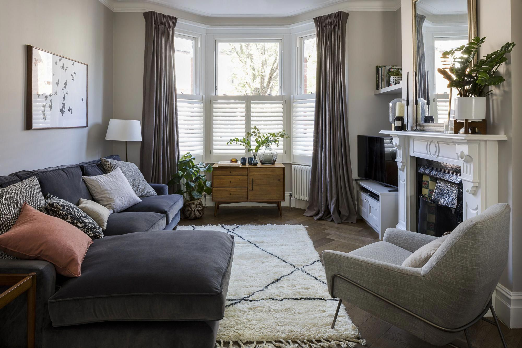 Interior Design By Imperfect Interiors At This Victorian Terraced House In Balham London A Pa Living Room Colors Living Room Grey Cornforth White Living Room