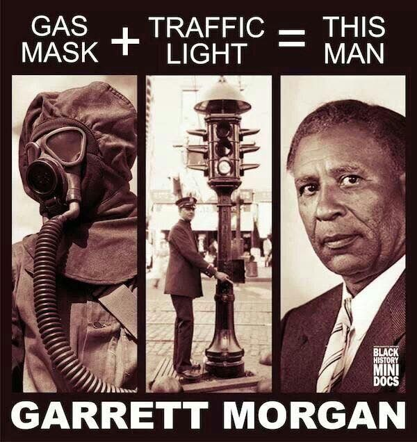 Perfect Garrett Morgan Invented The Gas Mask And Traffic Light