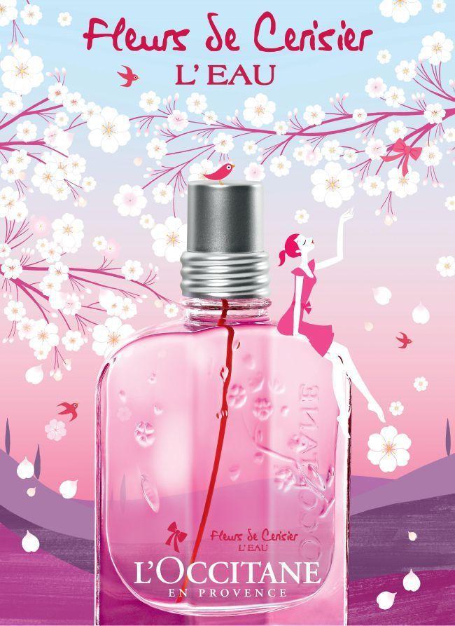 New From L Occitane Cherry Blossom L Eau Fragrance Collection Perfume Perfume Lover L Occitane