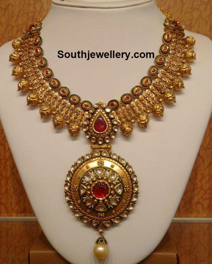 gorgeous Necklaces and Pendants | Beautiful Antique Gold ...
